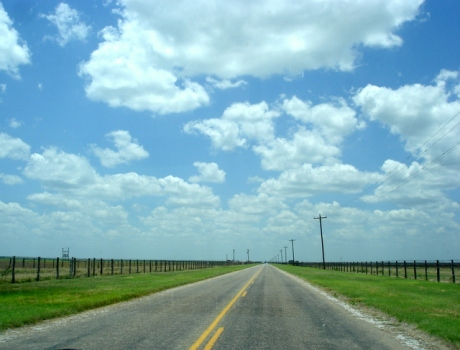 TX, end of the road
